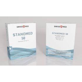 Винстрол Swiss Med Stanomed 50 10 ампул (50мг/1мл)