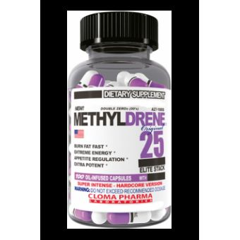 Жиросжигатель Methyldrene 25 Elite  (100 капсул)  - Бишкек