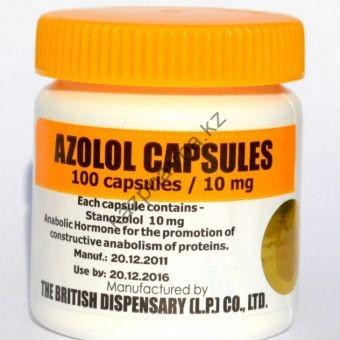 Azolol (Станозолол, Винстрол) British Dispensar 100 таблеток (1таб 10 мг) - Бишкек